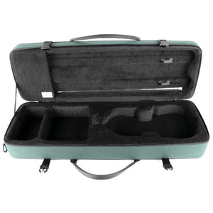 Bam Classic Oblong Violin Case Green