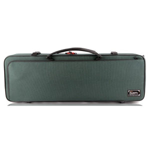 green violin case