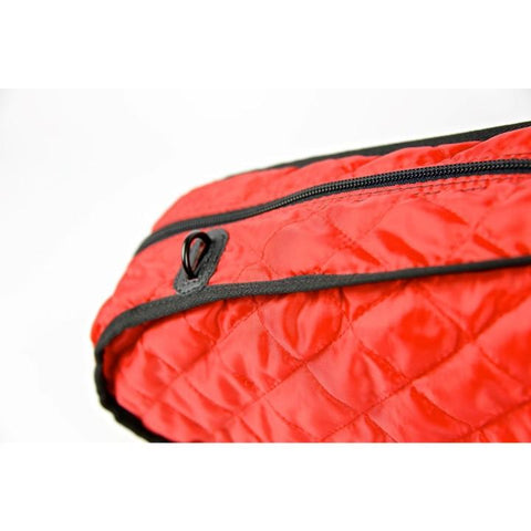 Image of red bam violin case cover