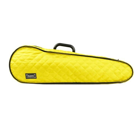 Image of bam violin case hoodie yellow