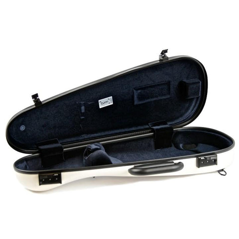 Image of Bam White Cabin Violin Case
