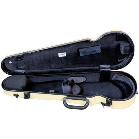 Image of Yellow Contoured Violin Case