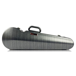 Bam Hightech Lazure Black Contoured Violin Case - Front