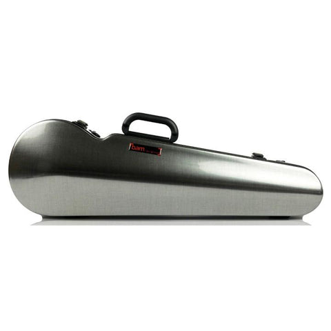 Bam Hightech Tweed Contoured Violin case - Front