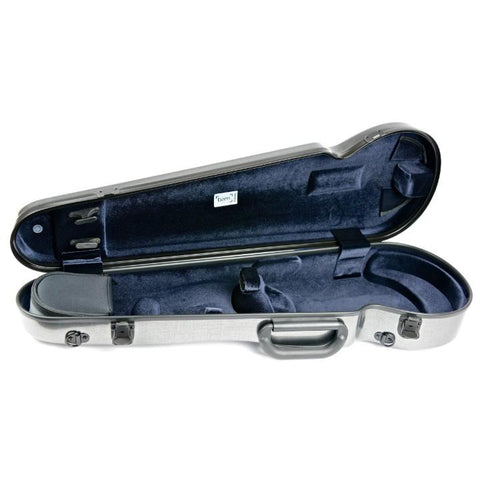 Image of Bam Hightech Contoured Violin case Tweed