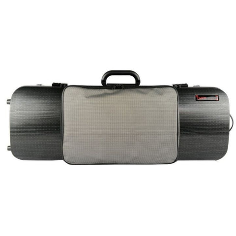 Bam Hightech Oblong Viola case Compact Size with pocket Lazure