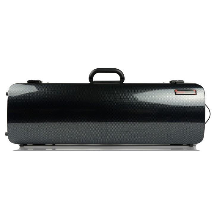 Bam Hightech Carbon Black Oblong Violin Case - Front