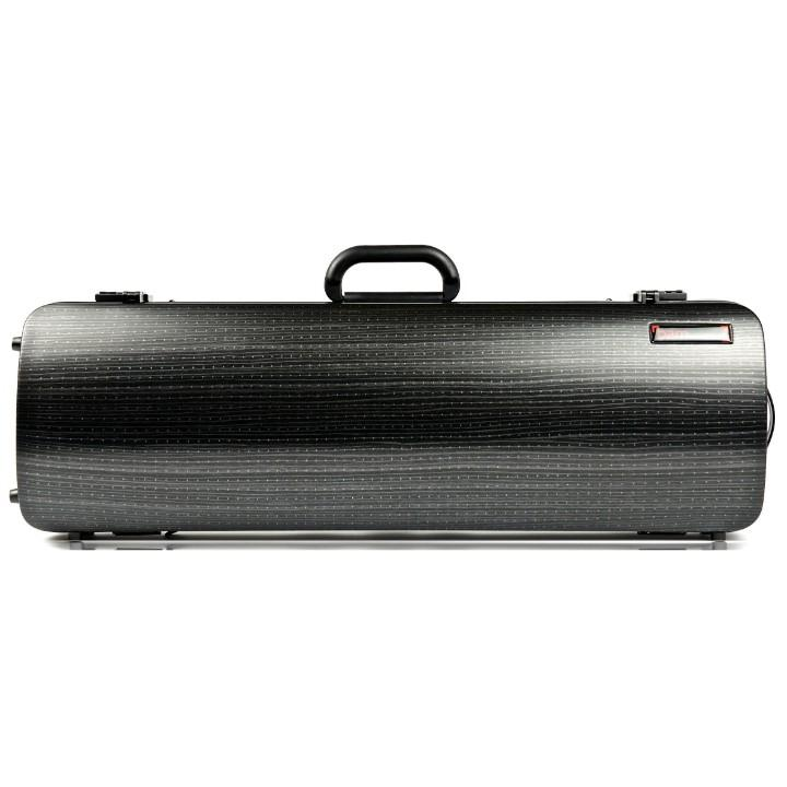 Bam Hightech Oblong Lazure Black Violin Case - Front