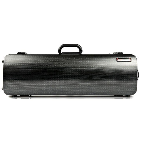 Image of Bam Hightech Oblong Lazure Black Violin Case - Front