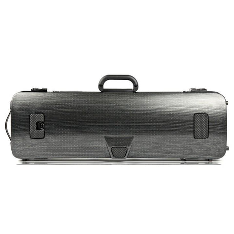 Bam Hightech Oblong Lazure Black Violin Case - Back