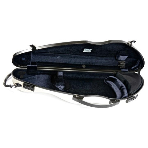 Bam Hightech Slim White Violin Case - Interior