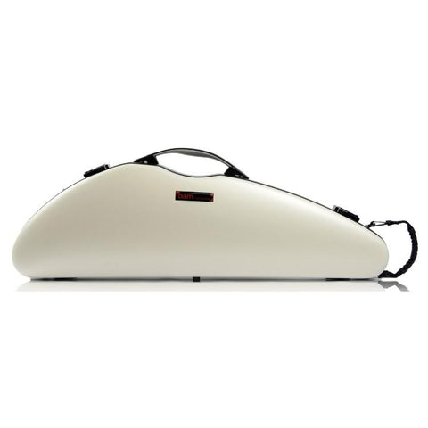 Bam Hightech Slim White Violin Case - Front