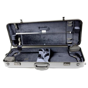 Bam Hightech Double Violin Case Black Carbon
