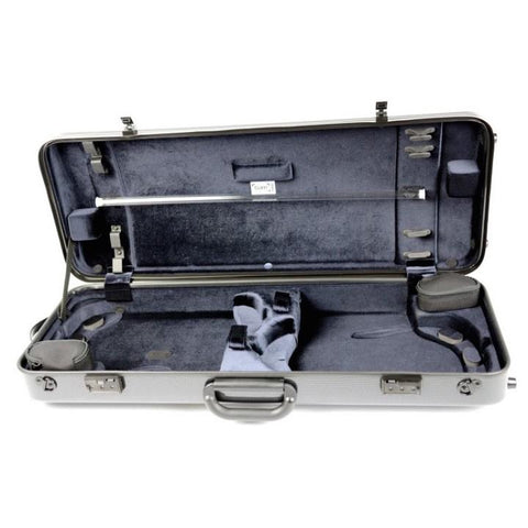 bam carbon double violin case