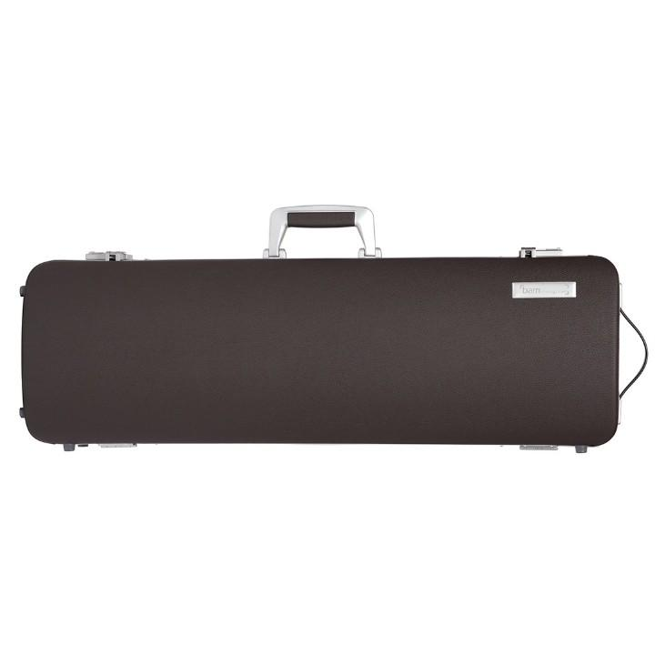 bam brown leather violin case