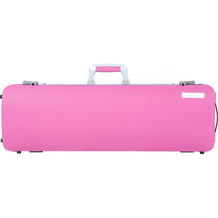 pink oblong violin case