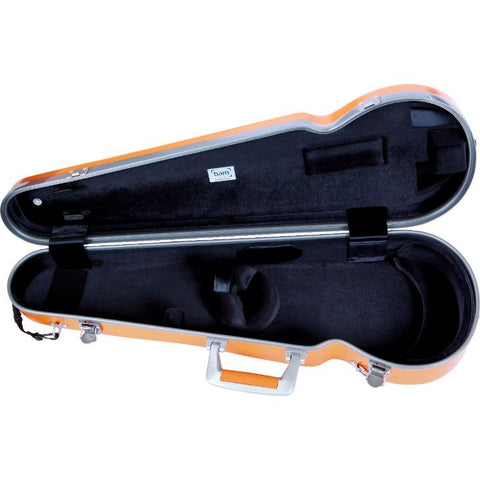 Bam La Defense Contoured Violin Case Orange