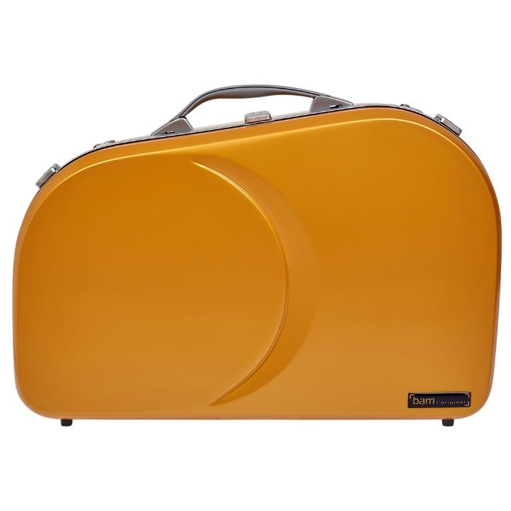 La Defense Hightech Adjustable Orange French Horn Case