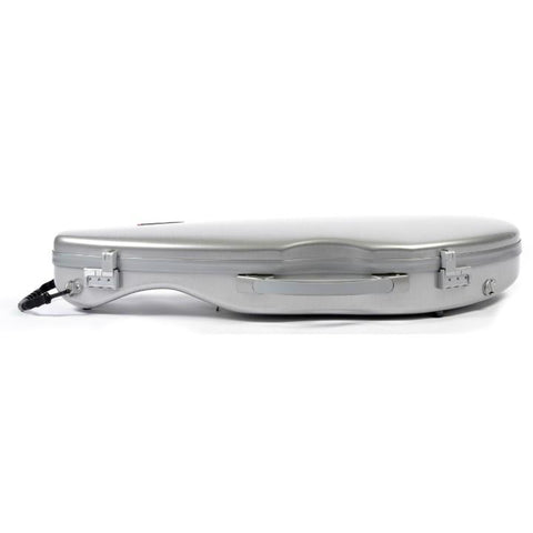 Image of Bam La Defense Aluminum Slim Violin Case - Side