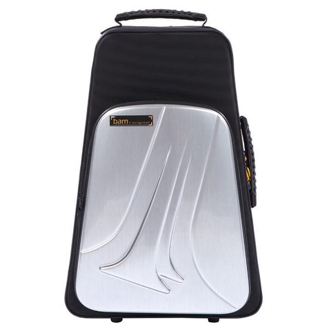 Bam New Trekking Two Trumpets case Aluminum