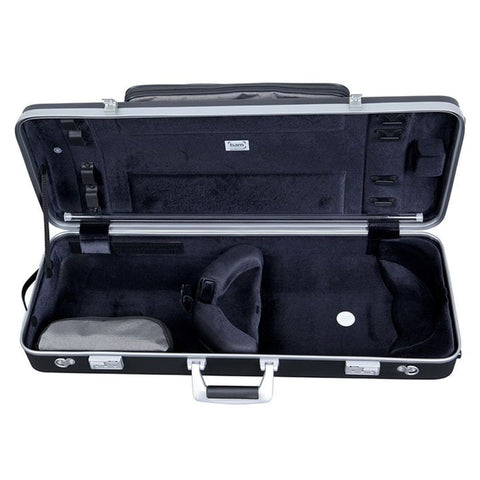 Bam Panther Black Hightech Oblong Viola Case with Pocke - Interior