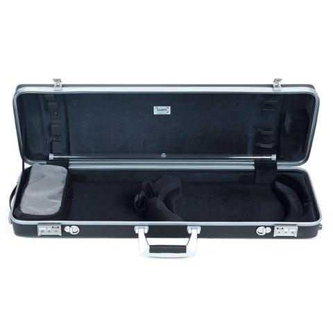 Bam Panther Hightech Oblong Violin Case- Interior
