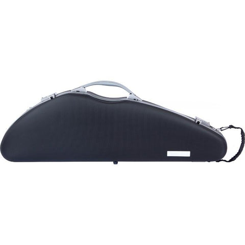 Bam Panther Slim Black Violin Case - Front