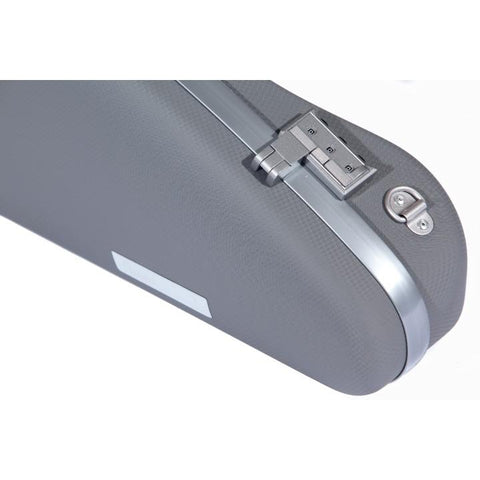 Bam Panther Slim Grey Violin Case - Combination locks