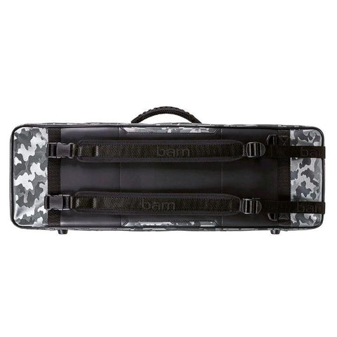 Image of Bam Performance Camo Oblong Violin Case - Back