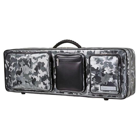 Image of Bam Performance Camo Oblong Violin Case - Side