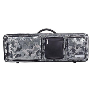 Bam Performance Camo Oblong Violin Case - Front