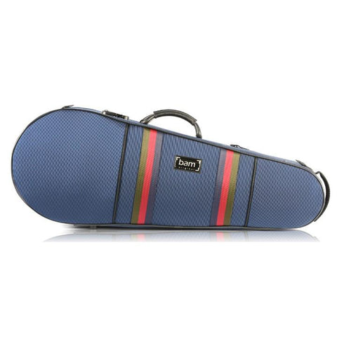 Image of Bam Blue Contoured Viola Case