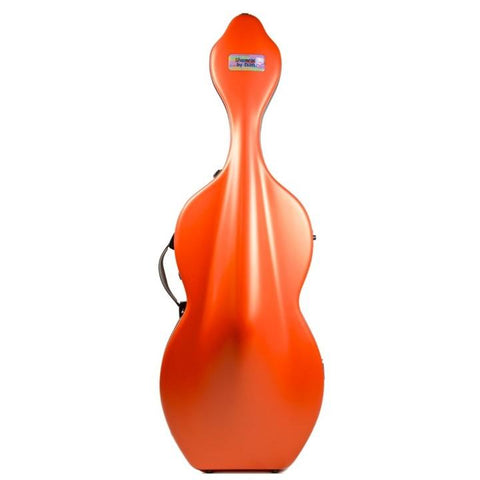 bam cello case orange