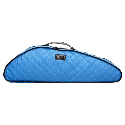 Bam Blue Hoody for Slim Hightech Violin Case Front