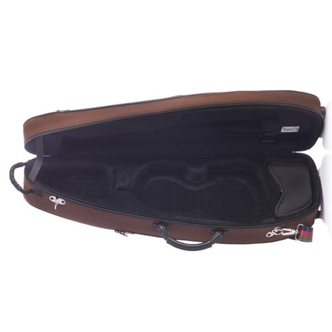 Image of Bam St. Germain Contoured Violin Case Chocolate