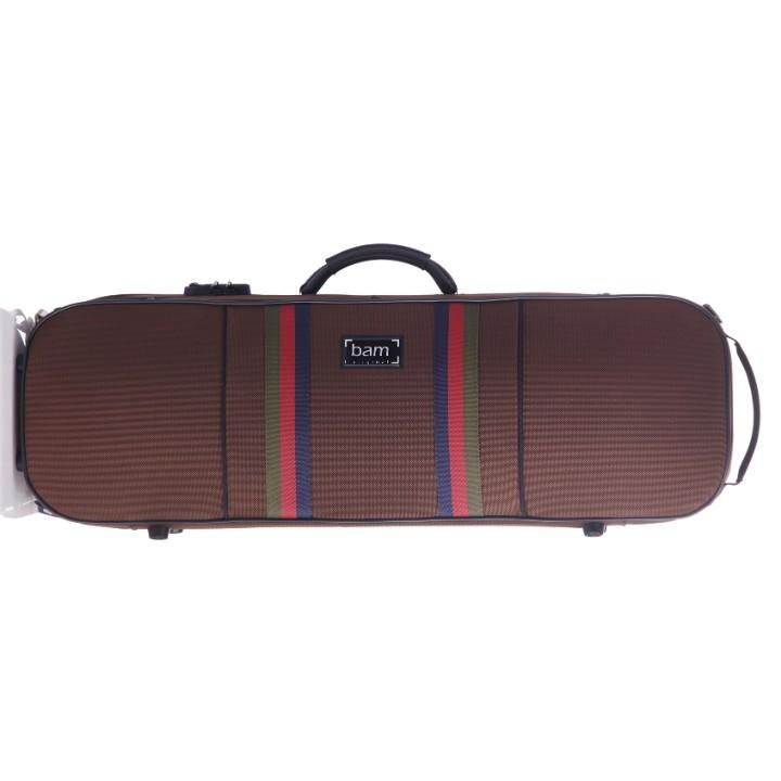 Brown Bam Oblong Violin Case