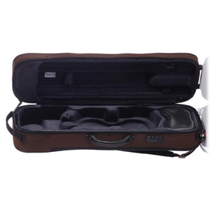 Bam St. Germain Oblong Violin Case Chocolate