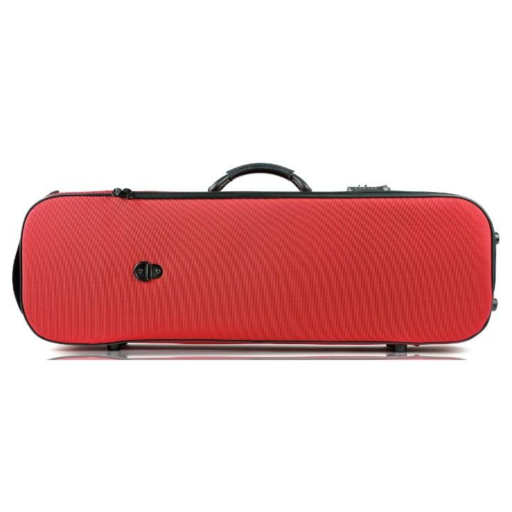 Bam Oblong Violin Case red