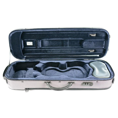 Image of gray stylus violin case