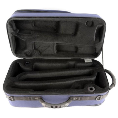 Blue Trekking Two Trumpets case