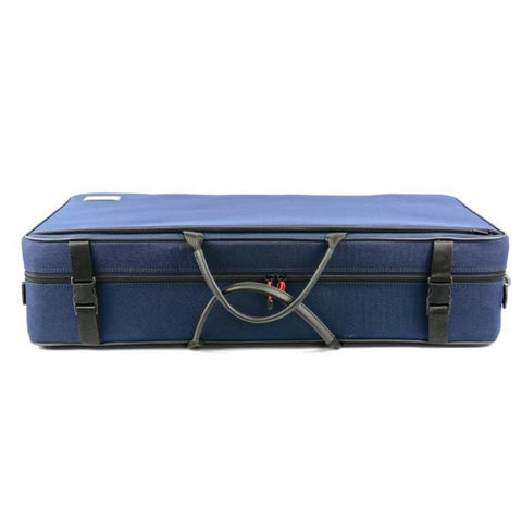 Image of navy blue bam violin and viola case