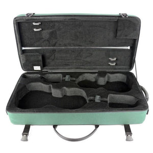 Bam Classic Violin and Viola Double Case Green