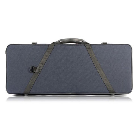 Image of bam blue double violin case
