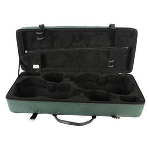 Bam Classic Double Violin Case Green