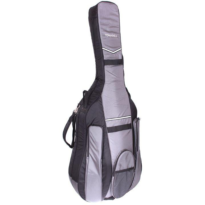 Tonareli Double Bass Gig Bag Black and Gray