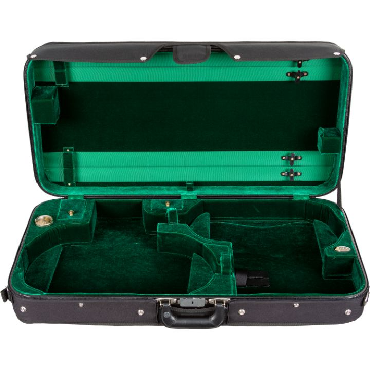 Bobelock 1023 Mercury Green Velvet Violin Viola Case