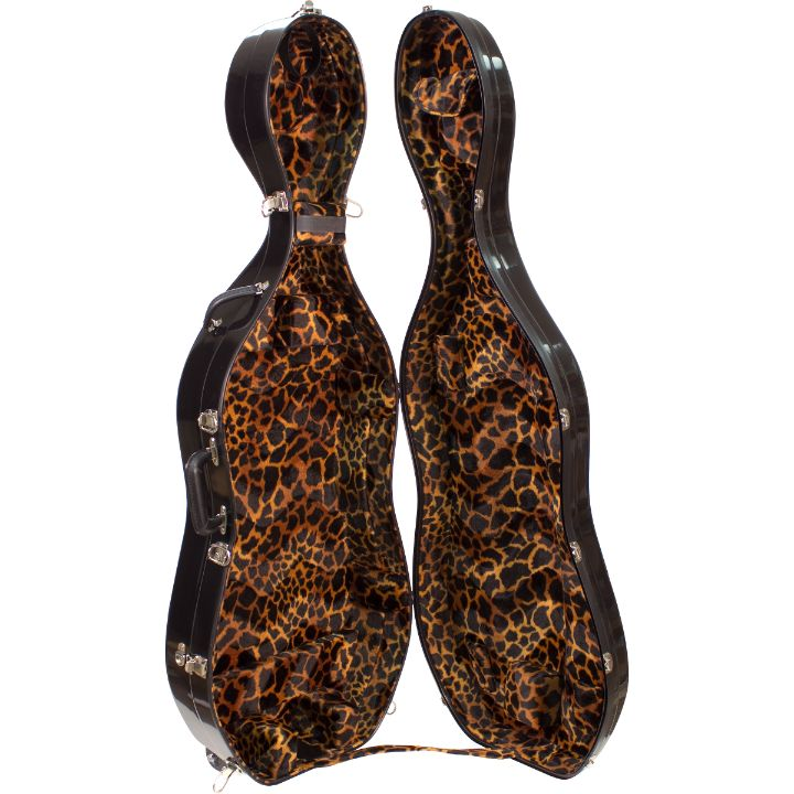 Cheetah cello case