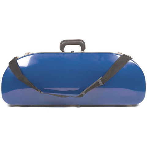 Image of Bobelock 2048 Blue Fiberglass Half Moon Viola Case
