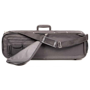 Bobelock 1002 Tan Velour Oblong Suspension Violin Case