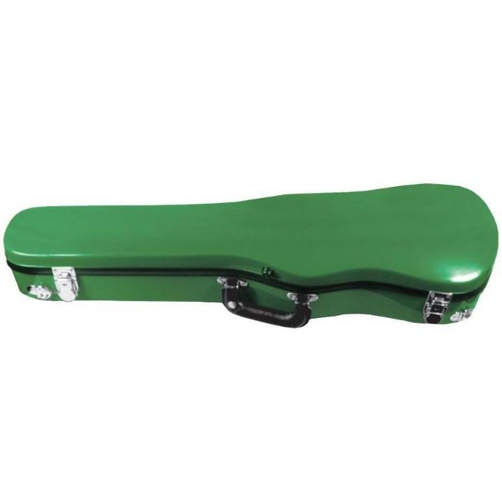 green fiberglass violin case